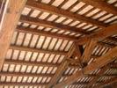 Sottotetto con capriate in legno e rettangolo 15 x 30 x 2,2